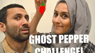One of Sid and Dina's most viewed videos: GHOST PEPPER CHILLI CHALLENGE!