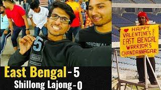 East Bengal vs Shillong Lajong 5-0⚽All Goals⚽I-League 2018-19