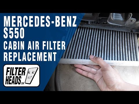How to Replace Cabin Air Filter Mercedes-Benz S550
