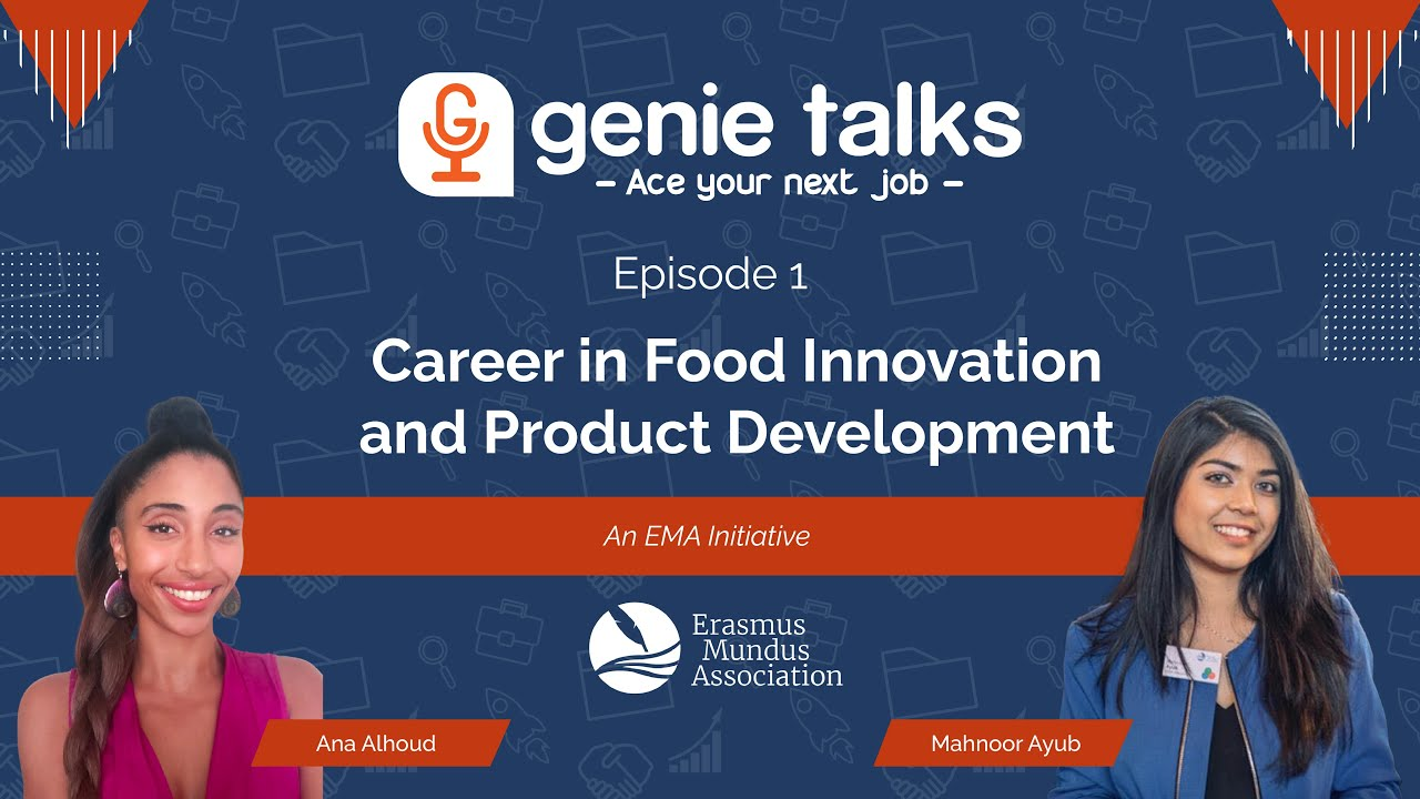 Finding a Job after Studying in Europe | GenieTalks [S1E1] #EMAProjects