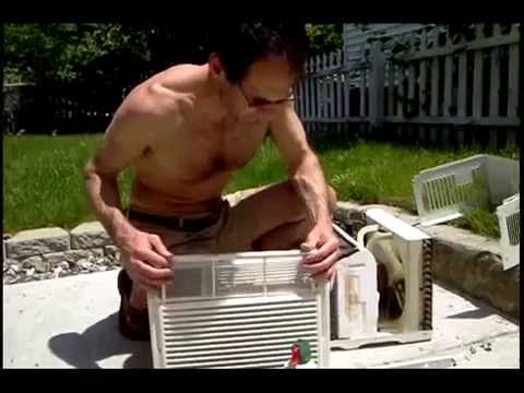 Window Ac Air Conditioner Maintenance Mold Mildew Smell