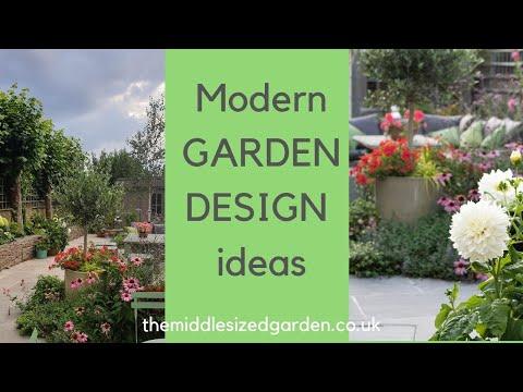 Contemporary Garden Design Ideas From A Small Urban Garden Youtube