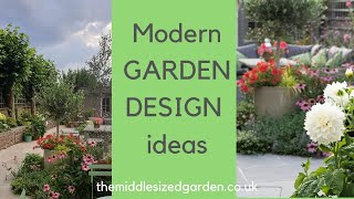 Contemporary Garden Design Ideas From A Small Urban Garden Youtube