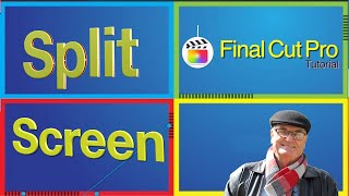 4 up split screen effect Final Cut Pro 10.5.2
