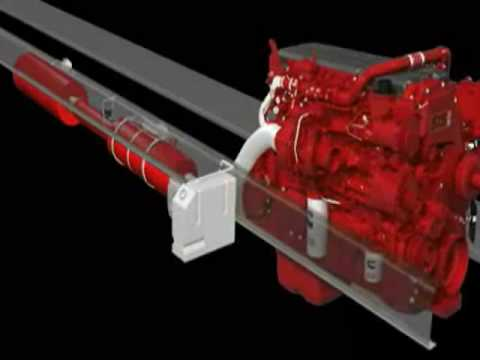 2010 Cummins Aftertreatment System Animation Youtube