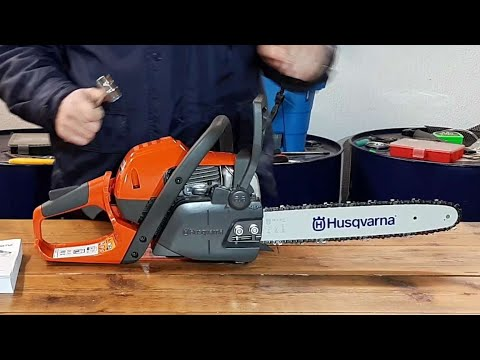 Chainsaw Husqvarna 130 NEW MODEL , Unboxing , Build , Video Tour