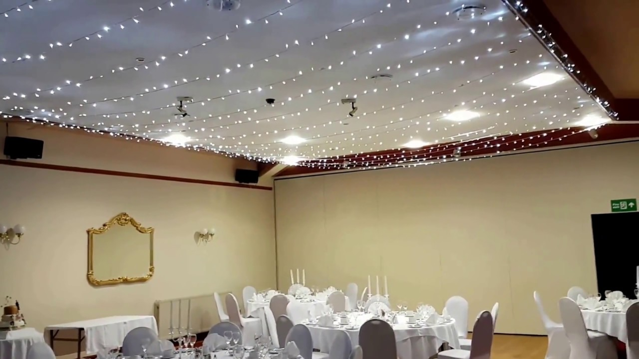 Ceiling Canopy Fairy Lights For Weddings and Event   YouTube Ceiling Canopy Fairy Lights For Weddings and Event