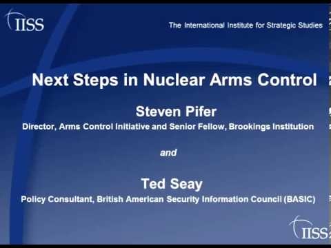 Next steps in nuclear arms control