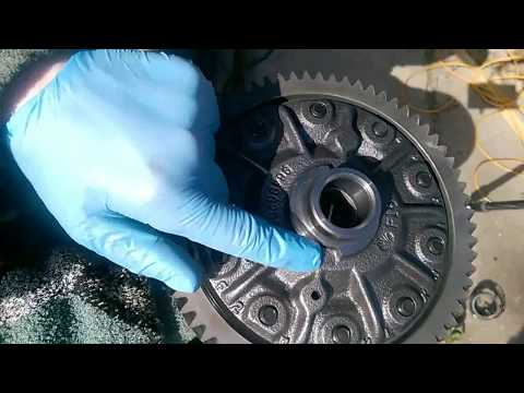 Замена подшипника дифференциала Chevrolet Lacett Nubira часть 1.