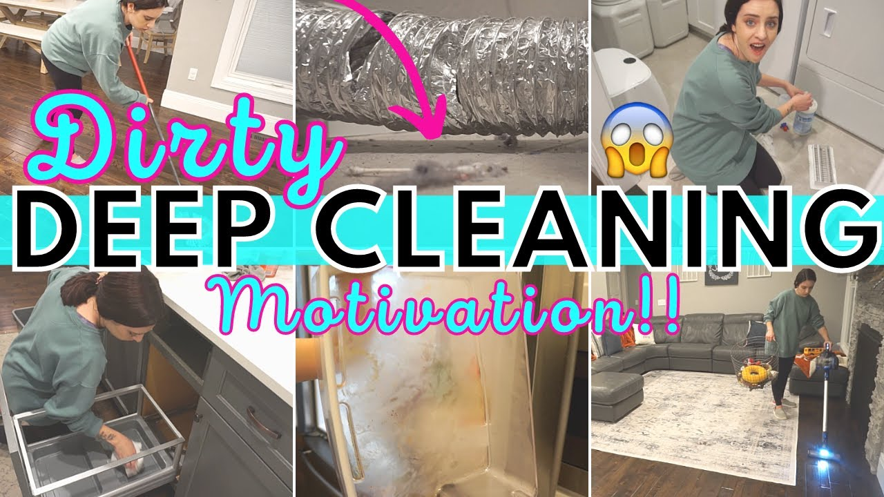 *DIRTY* DEEP CLEAN WITH ME 2021 | ALL DAY SPEED CLEANING MOTIVATION | CLEANING ROUTINE SAHM