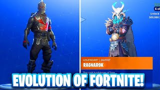 The Evolution of The Fortnite Battle Pass