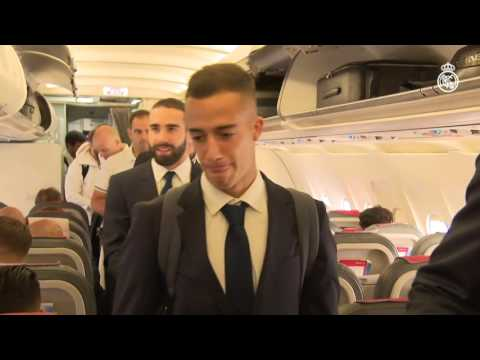 Real Madrid's journey to Dortmund