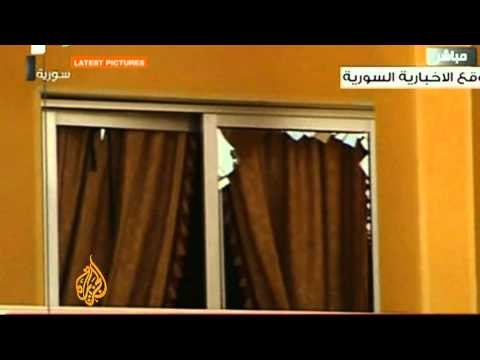 Gunmen storm pro-government TV channel in Syria