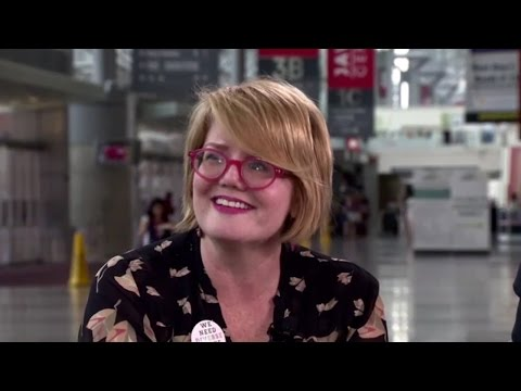David Levithan Interviews Libba Bray at BookCon 2015