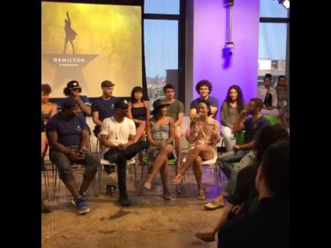 Hamilton The Musical Cast -  Facebook Live  Q&A