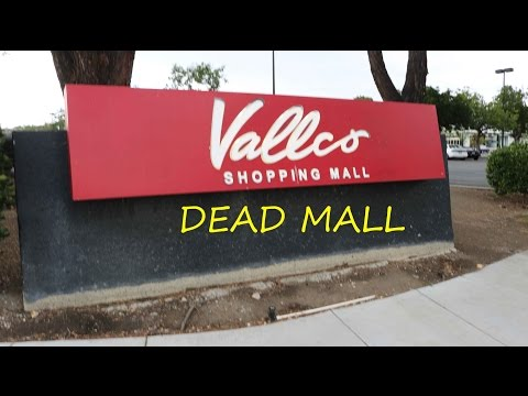 Dead Mall Adventure - Vallco Shopping Mall, Cupertino CA