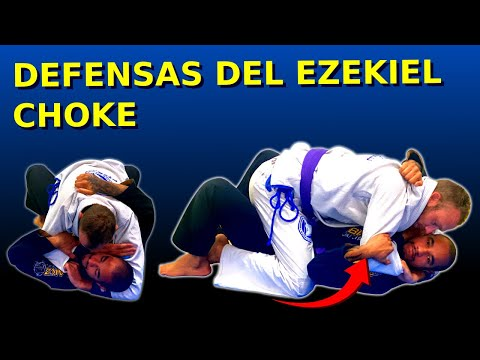 TÉCNICA DE BJJ: Defensas del ezekiel choke