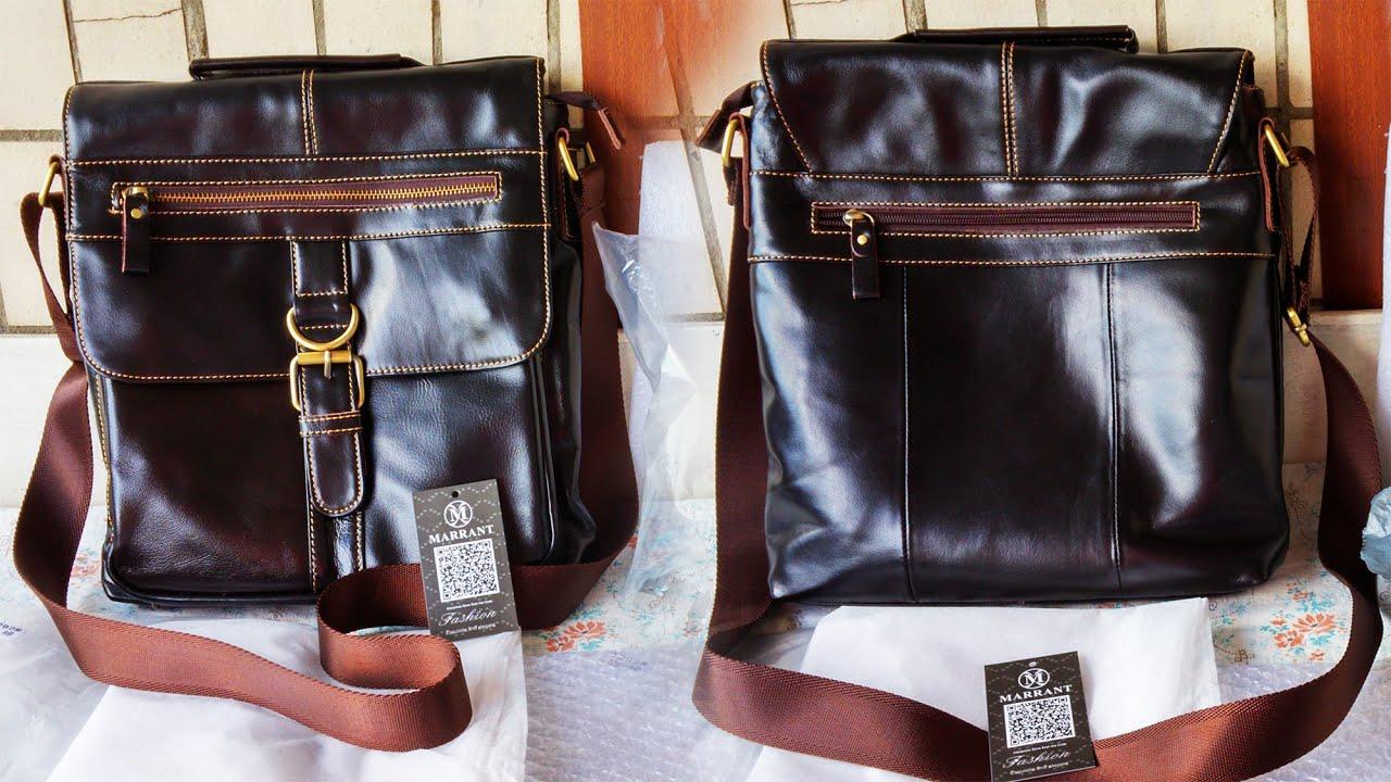 614571b550d4 Мужская кожаная сумка через плече Marrant c AliExpress / Crossbody Shoulder  Bag