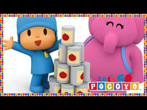 Let's Go Pocoyo! - Pocoyo's Supermarket [Episode 36] in HD
