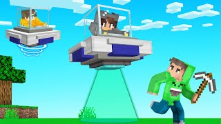 UFO Hunters vs Speedrunner! (Minecraft)