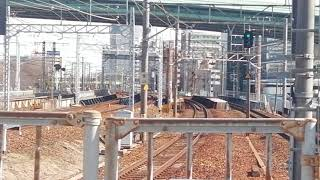681系特急しらさぎ回送列車尾頭橋2番線通過