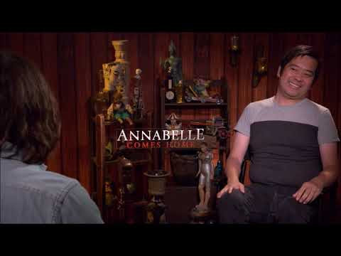 Director Gary Dauberman Interview For Annabelle Comes Home