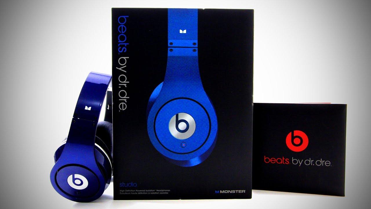 Beats By Dr Dre Beats Studio Unboxing - Blue (Colors) - YouTube on joseph audio, aoa audio, rainbow audio, cable audio, aurora audio,
