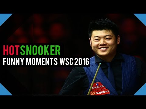 Funny Moments World Snooker Championship 2016 - HotSnooker