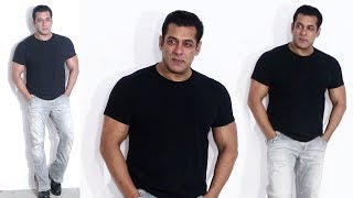 Salman Khan FLAUNTS His MUSCULAR BICEPS At BHARAT Movie Promotions