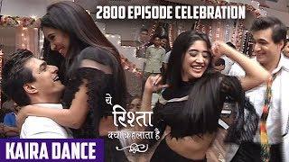 Yeh Rishta Kya Kehlata Hai: 2800 Episodes Celebration, Kartik and Naira Romantic Dance