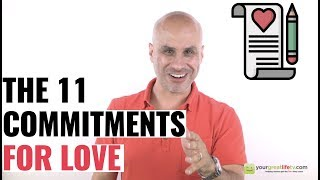 11 Commitments For Lasting Love