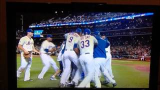Gary Carter Joins the Johan Santana No-Hitter Celebration