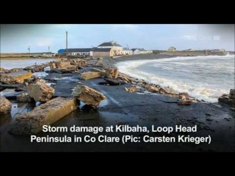 RTE NATIONWIDE REPORT ON STORM CHRISTINE WHICH HIT IRELAND EARLY JANUARY 2014