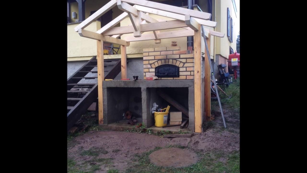 comment construire un four tarte flamb e pizza en 10 tapes etape 9 la charpente youtube. Black Bedroom Furniture Sets. Home Design Ideas