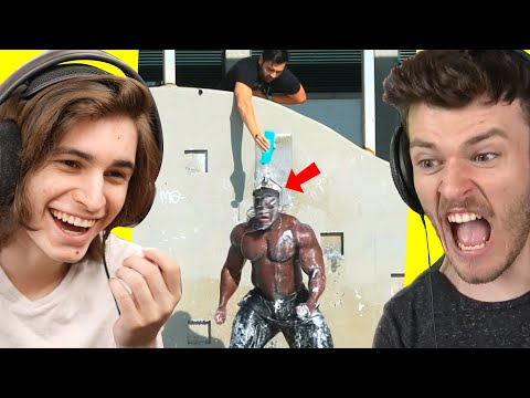 SUPER FUNNY PRANKS LOL XD 👁️👅👁️ | Bruh Moments