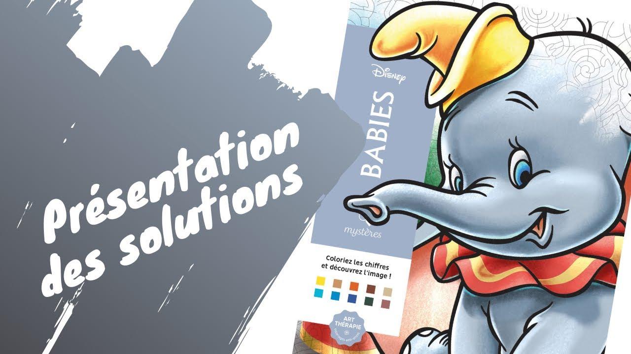 Babies - coloriages mystères - Solutions - Hachette Heroes