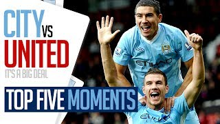 DENIS LAW or BALOTELLI? | TOP 5 DERBY DAY MOMENTS