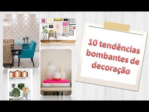 10 tendencias na decoração!