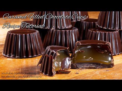 Mini Chocolate Caramel Cups Recipe