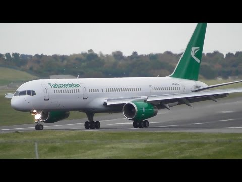 Plane Spotting at Birmingham Airport, BHX - 28-10-16
