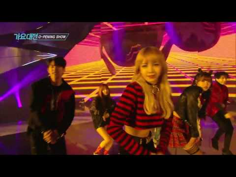 《LIVE VER.》 SAF SBS GAYO DAEJUN Street Dance Team + Shinee's Taemin (Opening Show)