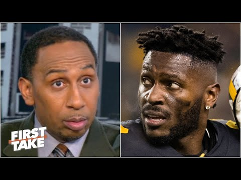 Stephen A. reacts to reports of the Seahawks pushing to sign Antonio Brown | First Take