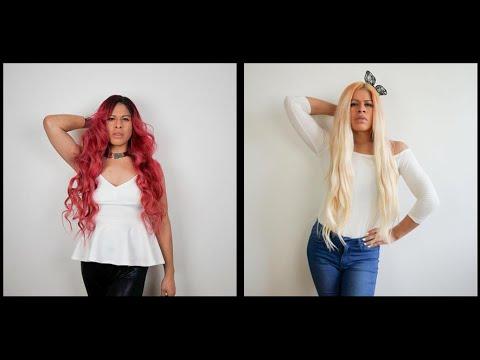 avfärga rött hår hemma