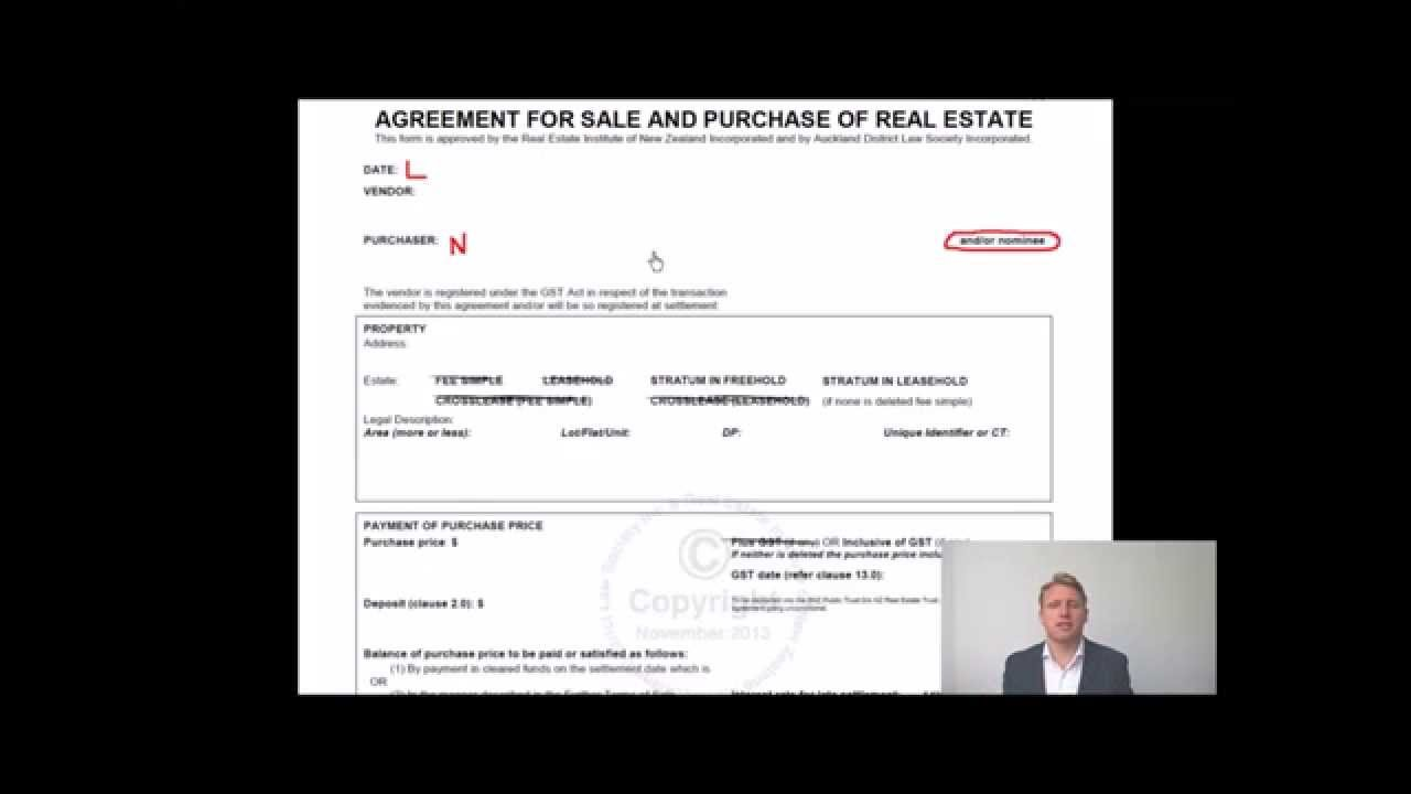 Putting In An Offer Understanding The Sale And Purchase Agreement