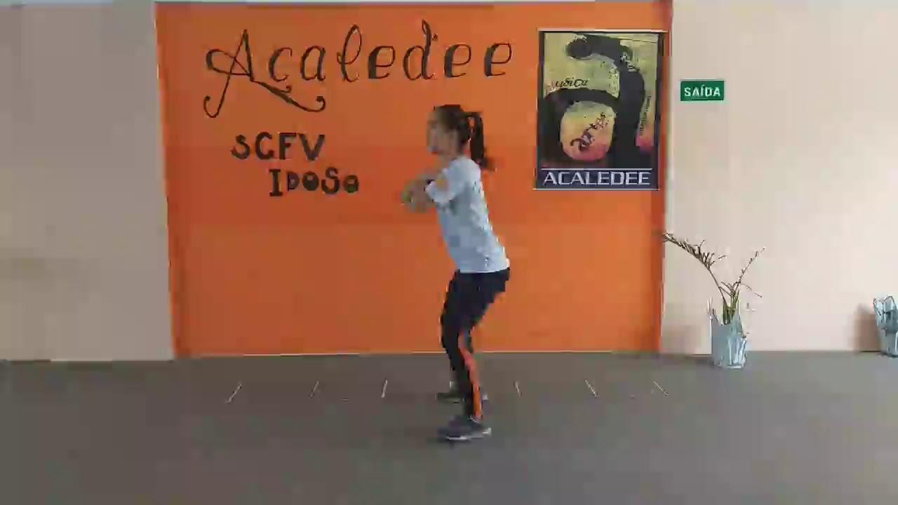 Oficina de Esporte SCFV-  Ritmos Exercícios coreografados