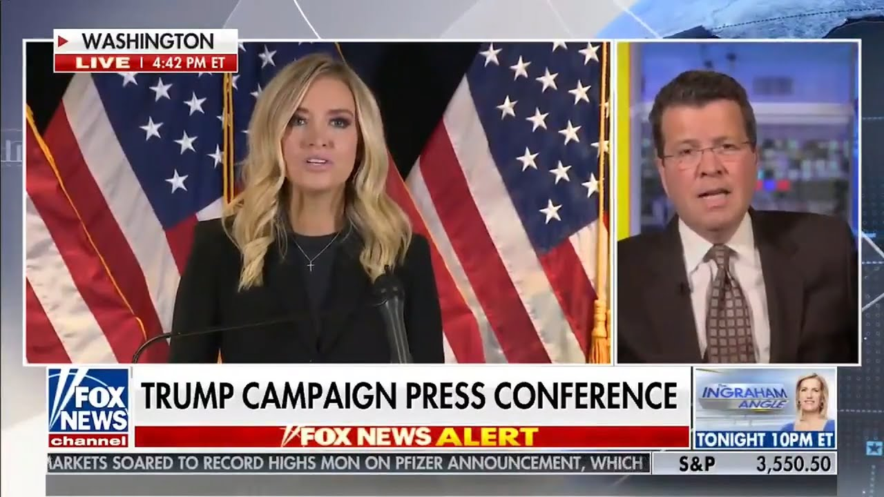 Fox News Cut Off Kayleigh McEnany's Latest Press Conference. It's ...