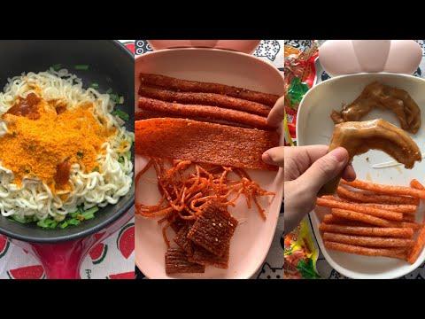 TỔNG HỢP TIKTOK P12 Ăn thử đồ ăn Trung Quốc có ngon không?