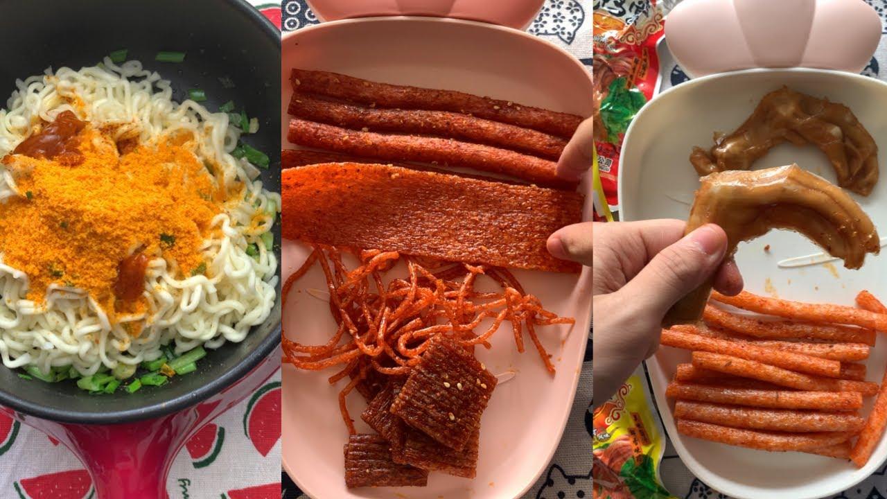 TỔNG HỢP TIKTOK P12 Ăn thử đồ ăn Trung Quốc có ngon không? - YouTube
