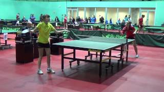 Александра САФРОНОВА - Анастасия ДОНЧЕНКО (Полная версия), Настольный теннис, Table Tennis