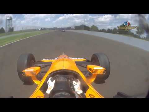 Fernando Alonso - Día 4- Indy 500